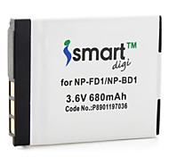 batterie iSmart appareil photo numérique pour Sony DSC-T75, DSC-T77 DSC-T500, DSC-T700