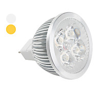 Spot Lampen MR16 GU5.3 4 W 360 LM K 4 High Power LED Warmes Weiß / Kühles Weiß DC 12 V