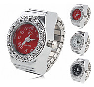 Women's Casual Alloy Analog Ring Watch (Assorted Colors) Cool Watches Unique Watches Fashion Watch