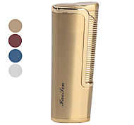 Metal Windproof Gas Lighter (Assorted Colors)