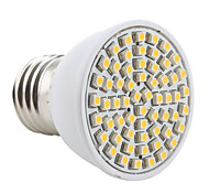 3W E26/E27 Spot LED MR16 60 SMD 3528 200 lm Blanc Chaud AC 100-240 V