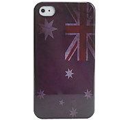 caso antique bandeira australia para iphone 4 e 4S