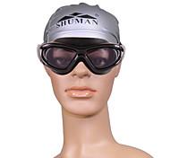 unisexes sm915b anti-brouillard lunettes de natation de placage
