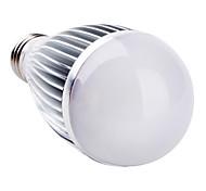 E26/E27 7 W 7 High Power LED 700 LM Natural White A60 Globe Bulbs AC 85-265 V