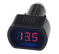 12V/24V Digital LED Auto Car/Truck Voltmeter Gauge