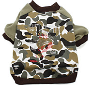 Military Style Dog Sweater (XS-XXL, Camouflage)