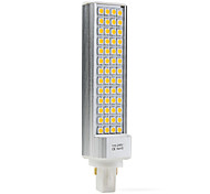G24 / E26/E27 9W 52 SMD 5050 600 LM Warm White / Natural White T LED Corn Lights AC 100-240 V