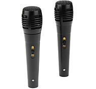 Universal USB Microphone Kit for Wii, Xbox 360, PS3 and PC (2-Pack, Black)