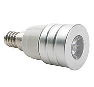 E14 W 1 High Power LED 200 LM Warm White Spot Lights AC 85-265 V