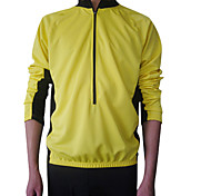 JAGGAD Bike/Cycling Jersey / Tops Men's Long Sleeve Breathable / Quick Dry / Thermal / Warm Polyester Patchwork Yellow / RedS / M / L /