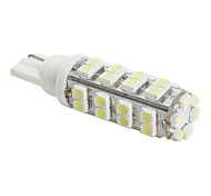 T10 3528 SMD 38-LED White Light Bulb for Car (DC 12V)