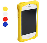 Silicone Bumper Frame for iPhone 4 and 4S (Assorted Colors)