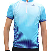 JAGGAD® Cycling Jersey Men's Short Sleeve Bike Breathable / Quick Dry Jersey / Tops Polyester Patchwork Spring / Summer Cycling/Bike