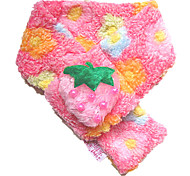 Strawberry Style Scarf for Dogs and Cats (XS-M, Pink)