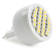 G9 1.5 W 24 SMD 3528 60 LM Warm White Spot Lights AC 220-240 V