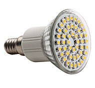 3W E14 LED Spotlight MR16 48 SMD 3528 150 lm Warm White AC 220-240 V