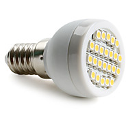 E14 1 W 24 SMD 3528 60 LM Warm White Spot Lights AC 220-240 V