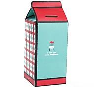 Milk Box Style Coin Bank