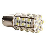 1156 3528 SMD LED 1.44W 39-156lm ampoule blanche pour la voiture (12V DC)-paire