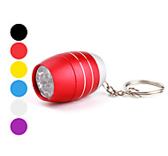 Key Chain Flashlights LED 1 Mode 50 Lumens Super Light / Compact Size / Small Size Others CR2032 Others ,Black / Blue / Green / Orange /