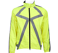 JAGGAD Men's Cycling Tops / Jacket / Windbreakers Long Sleeve Bike Spring / Summer / Autumn Thermal / Warm / Breathable / Quick DryYellow
