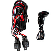 H3 55W Fog Light Wiring Kit with Fuse Switch