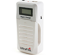Battery Rapid Charger for 10440 14500 18500 14650 17670 18650 and iPhone Cellphone