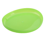 Transparent Soft Frisbee Toy for Dogs (20 x 20cm, Green)