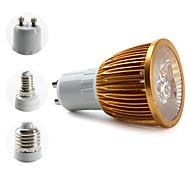 E14/E26/E27/GU10 W 3 High Power LED 270 LM Warm White PAR/MR16 Spot Lights AC 85-265 V