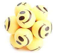 Улыбающиеся лица рок мяч