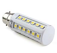 7W B22 LED a pannocchia T 36 SMD 5050 650 lm Bianco AC 220-240 V