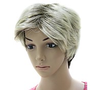 Capless Hight Quality Synthetic Mixed Color Short wig