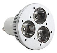 Spot Blanc Naturel MR16 GU10 W 3 LED Haute Puissance 270 LM 6000K K AC 85-265 V