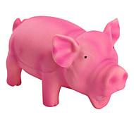 de cerdo chillando juguete para perros