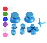Custom Replacement Button Set for PS3 Controller (Assorted Colors)