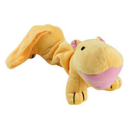 Hippo Shaped Style Soft Pet Squeaking Toy for Dogs (22 x 9cm)