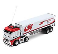 Mini-Transport 27MHz Radio Control Express Truck (White)
