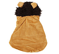 Dog Hoodie Brown Dog Clothes Winter Animal