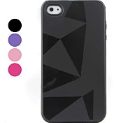 Simple Style Triangle Pattern Soft Case for iPhone 4 and 4S