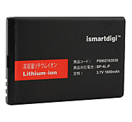iSMART 1600mAh bateria para nokia 2680, e52, E61i, E63, E71, E72, E90, N810, N97