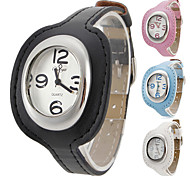 Women's Fashionable Style Alloy Analog Quartz Wrist Watch (Assorted Colors)