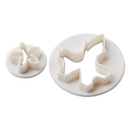 hera bolo padrão e biscoitos molde de corte com êmbolo (3 peças)