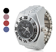 Women's Roman Numeral Style Alloy Analog Quartz Ring Watch (Assorted Colors) Cool Watches Unique Watches Fashion Watch