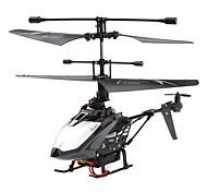 4-kanaals 2,4 GHz mini-afstandsbediening helikopter (zwart)