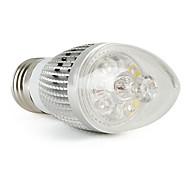 E26/E27 4 W 4 360 LM Natural White C Candle Bulbs V