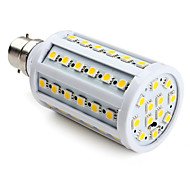 9W B22 LED Corn Lights T 60 SMD 5050 800 lm Warm White V