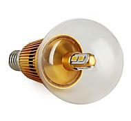 E14 3 W 6 SMD 5630 270 LM Warm White G50 Globe Bulbs V