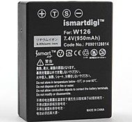 Ismartdigi Replacement Battery FNP-W126 for Fujifilm FinePix X-Pro1 ,HS30EXR