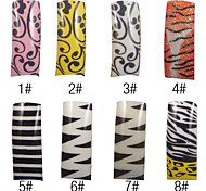70 Pcs Full Cover Acrylic Nails Tips 8 Colors Available