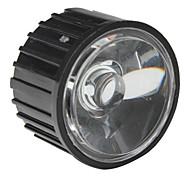 20mm 45° Optical Glass Lens with Frame for Flashlight, Spot Light